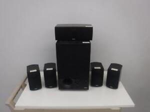 Energy LR77905 Surround Speaker Set & Subwoofer. We buy and sell used Speakers. 110269*