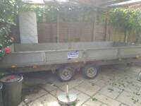 Ifor Williams twin wheel trailer. HDTyres wheels