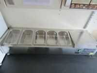 Used Polar Refrigerated Countertop Servery Prep unit