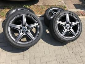 "Mercedes wheels amg 18"""