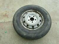 Citroen relay van spare wheel 215/75/16