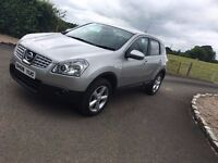 NISSAN QASHQAI 1.5 DCI ,60 MPG VERY CLEAN EXAMPLE 4500 - - 4X4,JEEP,ASTRA,7 SEATER,GOLF,LEON,BMWAUDI