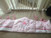 Cot bumper and mats