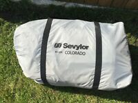 Sevylor inflatable cayak in new condition as only used once complete with all accessories