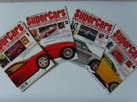 The Encyclopedia of Super Cars Magazines Vol. 1, 2, 3 and 4- Collectibles