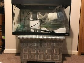 ROMA 125 Aquarium - Marine / Tropical Fishtank - Excellent Condition - Full setup - £150