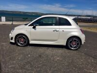 Mint Abarth 500 2012 , low milage