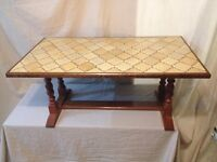 Hand made Tiles Coffee Table