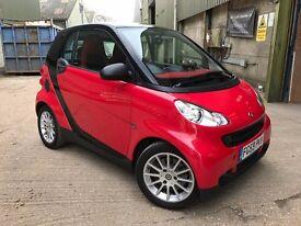 2009/59 SMART CAR 1.0 MHD PASSION - 23,010 MILES