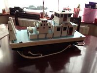 Remote Control Boat Jenny Sue Hand Built Custom One Off ShowBoat