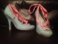 Irregular choice and Zara heels, UK size 4.5, £20 each