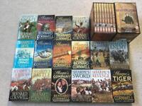 Sharpe paperbacks & Collectors DVD box set