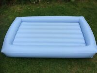 Aerobed inflatable mattress - childs - camping and sleepovers