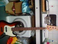 squire jazz bass korean 1996 anniversary 50 ,,