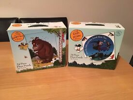 Pair of Julia Donaldson Themed Floor Puzzles - Gruffalo and Room on the Broom