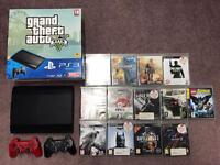 PS3 super slim 500gb GTA 5 edition