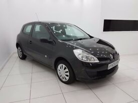 RENAULT CLIO 1.2 16v EXPRESSION 3dr-12 MONTH MOT-TIMING BELT DONE-NEW CLUTCH-£0 DEPOSIT FINANCE
