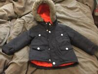 Boys McKenzie warm coat £5.00 Used like new