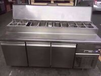 TOPPING FRIDGE CATERING SHOP TAKEAWAY BUFFET CANTEEN RESTAURANT FASTFOOD KITCHEN SHOP COMMERCIAL