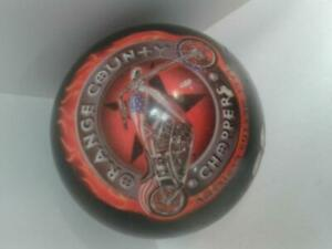 Orange County Chopper Bowling Ball. We Sell Used Sporting Goods! (54086) Al42082