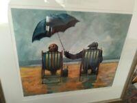 Signed limited edition framed print - Summer Lovin' by Alexander Millar