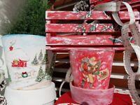 Beautiful Vintage Style Christmas Decorations BIG JOB LOT