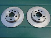 T4 VW TRANSPORTER REAR DISCS A PAIR OF BRAND NEW REAR DISC FOR VOLKSWAGEN T4