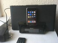 Docking Station Sony + iPod Touch 1st Gen.