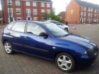 Seat Ibiza 1.2 12V SX 5dr LOW MILEAGE !!!