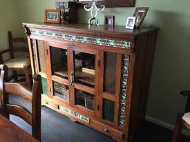 Beautiful large antique sideboard