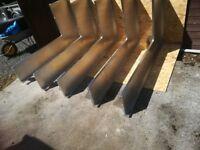 Moffat stainless steel kitchen shelves
