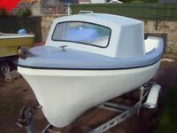 Boat Oyster 16ft Honda outboard and Trailer £1575.00