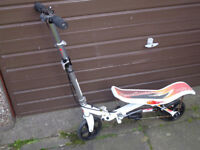 Kids Space Scooter - Suitable from age 8. Used and in a good condition. Collect Only