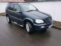 Mercedes ML270 CDI AUTOMATIC ideal for export