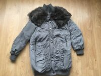 ** Ladies River Island Coat Size 6 ( Would Fit Size 8/10 as well) **