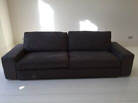 Super comfy and roomy sofa / sofa bed - As new
