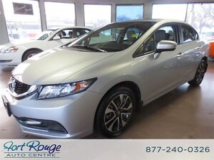 2015 Honda Civic EX -/SUNROOF/HEATED SEATS