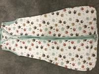 Baby sleeping bag age 0-6 months