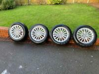 "4 x genuine 16"" Audi A3 Technik wheels & tyres *COLLECTION ONLY*"
