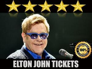 Discounted Elton John Tickets | Last Minute Delivery Guaranteed!