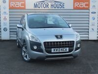 Peugeot 3008 HDI (ALLURE) FREE MOT'S AS LONG AS YOU OWN THE CAR!!! (silver) 2013