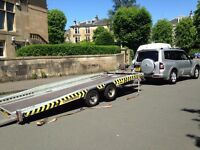 Brian James 3.5 ton Recovery Trailer, Transporter