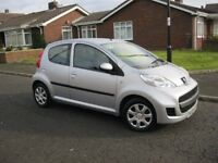 2009 Peugeot 107 1.0 Urban 5Dr, £20 Yr Tax, 12 Month mot. £1,495. (P/X Welcome)