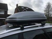 Audi Roof Box and Bars