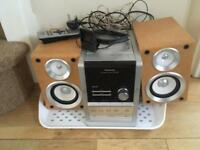 Panasonic cd radio cassette stereo sound system In good condition