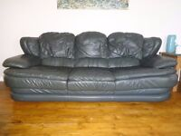 Leather 3 Seater Sofa FREE to a good home