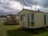 Lovely Caravan Holiday Home For Sale in Corton between Great Yarmouth and Lowestoft in Suffolk