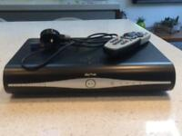 Sky+ Box, remote and power lead.