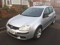 2006 Golf 1.6 FSI PETROL, AUTOMATIC, METALLIC SILVER, MOT & TAX, IMMACULATE CONDITION