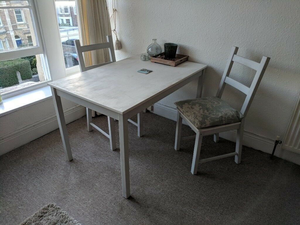 Swell Needs To Go Sat 13Th Oct Upcycled Dining Table And 2 Chairs For Sale In Clifton Bristol In Redland Bristol Gumtree Caraccident5 Cool Chair Designs And Ideas Caraccident5Info